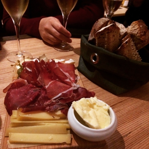 Planche mixte charcuterie fromage