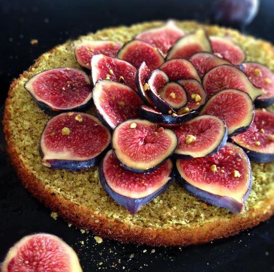 Moelleux pistache figues papillexotiques