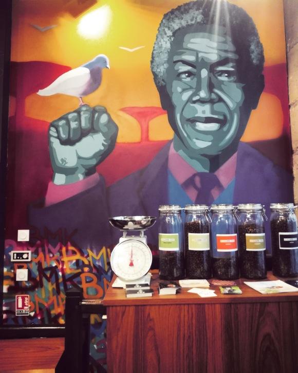 Fresque Nelson Mandela