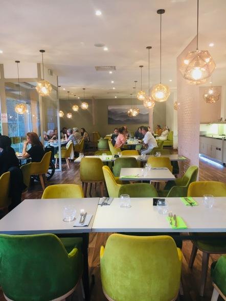 photo restaurant l'arganier paris